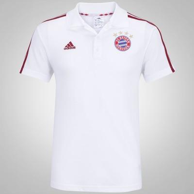 Camisa Polo Bayern de Munique adidas 3s - Masculina