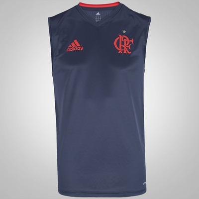 Camiseta Regata do Flamengo de Treino adidas - Masculina