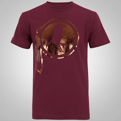 Camiseta New Era Reflect Washington Redskins - Masculina