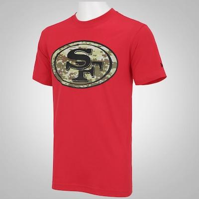 Camiseta New Era San Francisco 49ers - Masculina