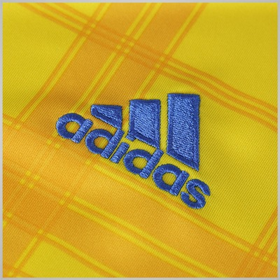 Camisa Ucrânia I 2016 adidas - Masculina