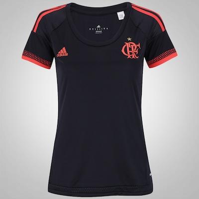 Camisa do Flamengo III 2016 adidas - Feminina
