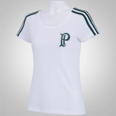 Camiseta do Palmeiras adidas 3S - Feminina