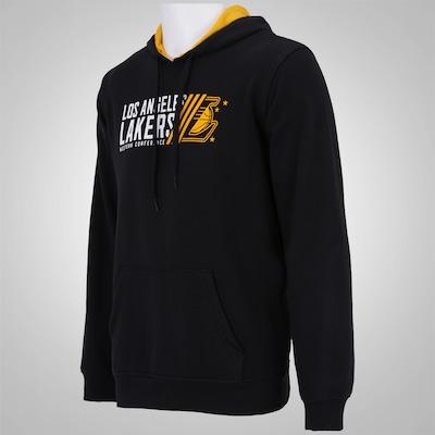 Blusão do Los Angeles Lakers NBA Com Capuz - Masculino