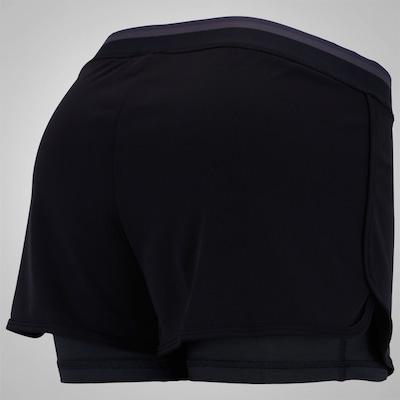 Shorts adidas Duplo Climachill - Feminino