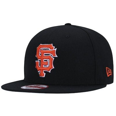 Boné Aba Reta New Era 9FIFTY San Francisco Giants Black - Snapback - Adulto