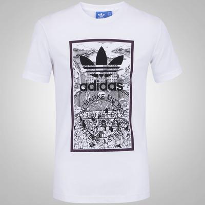 Camiseta adidas Handdrawn - Masculina
