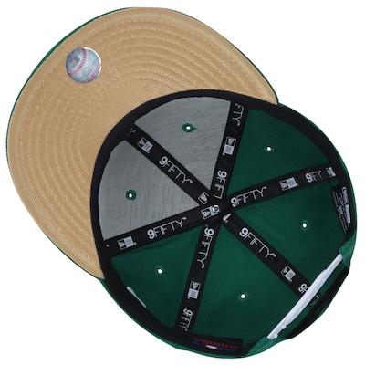 Boné Aba Reta New Era 9FIFTY New York Yankees Green - Snapback - Adulto