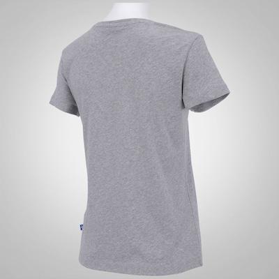 T Shirt adidas Mash Up Trefoil W