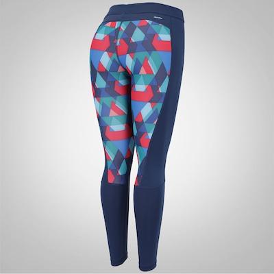 Calça Legging adidas TechFit Glo Tri - Feminina