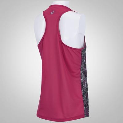Camiseta Regata Asics Print Singlet - Feminina