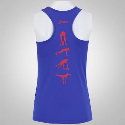 Camiseta Regata Asics Train Tank Motivation - Feminina