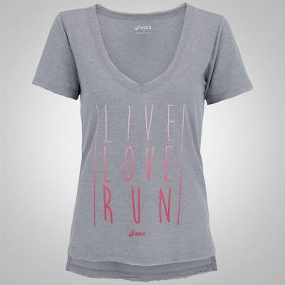 Camiseta Asics Live Love Run SS - Feminina