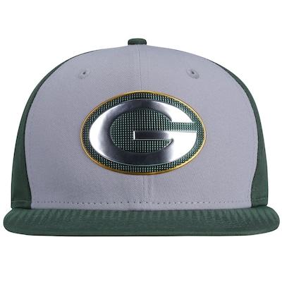 Boné Aba Reta New Era Green Bay Packers Draft Colle - Snapback - Adulto