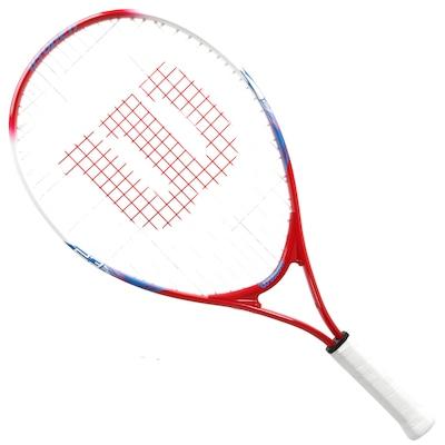 Raquete de Tennis Wilson US Open 23 New - Infantil - 6 a 8 anos