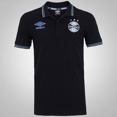 Camisa Polo do Grêmio Viagem 2016 Umbro - Masculina