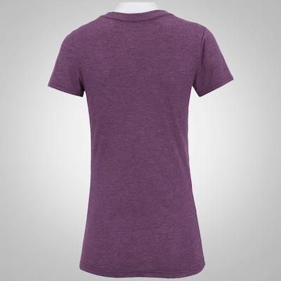 Camiseta Reebok F R-CF Blank Vneck - Feminina
