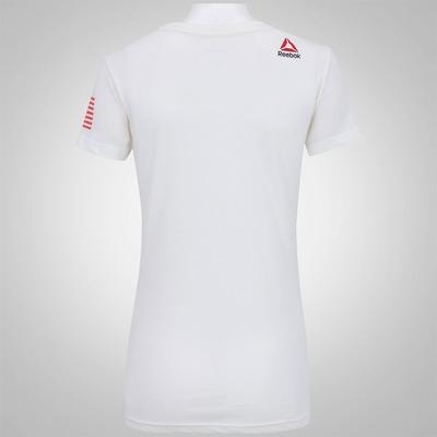 Camiseta Reebok F R-CF Graphic Crew - Feminina