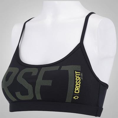 Top Fitness Reebok Crossfit Skinny Graphic - Adulto