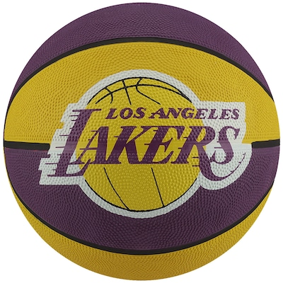 Bola de Basquete Spalding Los Angeles Lakers NBA Team