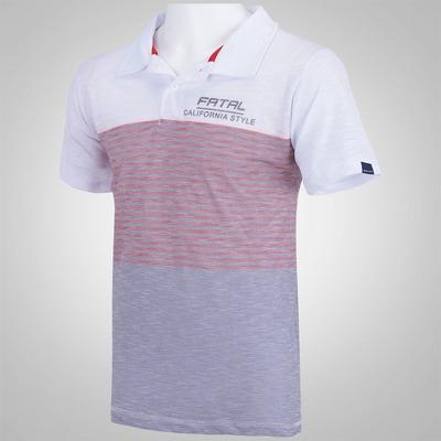 Camisa Polo Fatal Flame Subli - Masculina