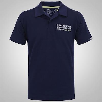 Camisa Polo Fatal Estampada 12780 - Masculina
