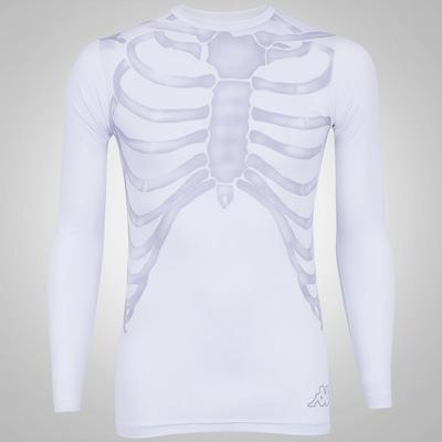Camisa Manga Longa de Compressão Kappa Caveira - Masculina