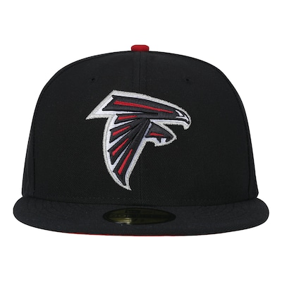 Boné Aba Reta New Era Atlanta Falcons NFL Evergreen - Fechado - Adulto