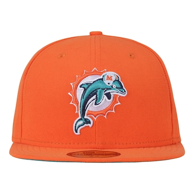 Boné Aba Reta New Era Miami Dolphins NFL ON Fild - Fechado - Adulto