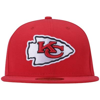 Boné Aba Reta New Era Kansas City Chiefs NFL Evergreen - Fechado - Adulto