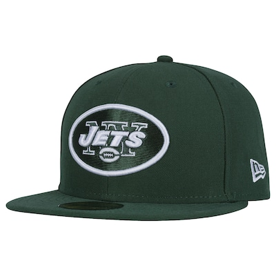 Boné Aba Reta New Era New York Jets NFL Evergreen - Fechado - Adulto