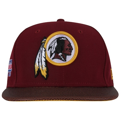 Boné Aba Reta New Era Washington Redskins NFL Super Bowl XVII - Snapback - Adulto