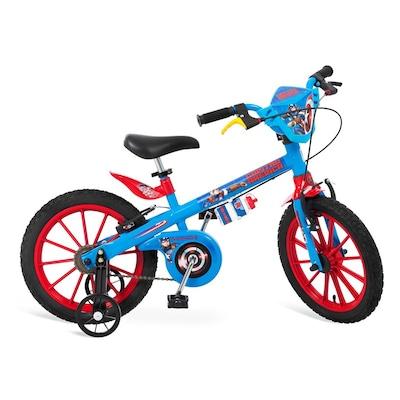 Bicicleta Bandeirante Capitão América - Aro 16 - Freio V-Brake - Infantil