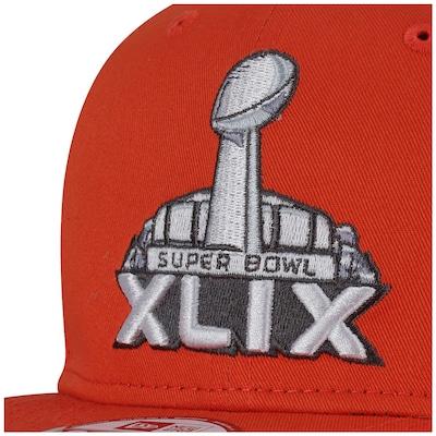 Boné Aba Reta New Era Generic Basic Super Bowl XLIX - Snapback - Adulto