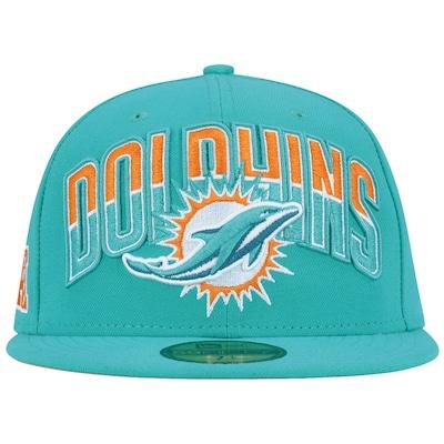 Boné Aba Reta New Era 59FIFTY Miami Dolphins NFL Draft - Fechado - Adulto