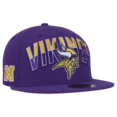 Boné Aba Reta New Era Minnessota Vikings NFL Draft - Fechado - Adulto