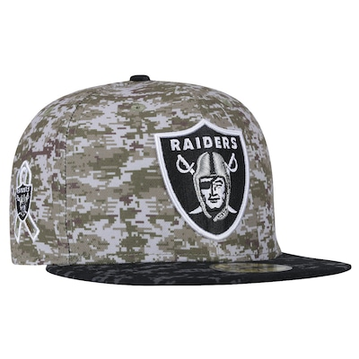 Boné Aba Reta New Era Oakland Raiders NFL STS - Fechado - Adulto