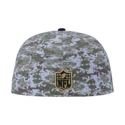 Boné Aba Reta New Era New England Patriots NFL - Fechado - Adulto