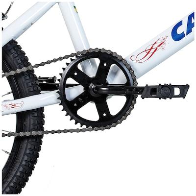 Bicicleta Caloi Cross 2016 - Aro 20 - Freio V-Brake - 1 Marcha