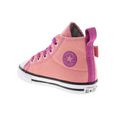 Tênis Converse All Star CT AS Side Step HI Feminino - Infantil
