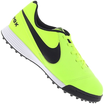 Chuteira Society Nike Tiempo Legend VI TF - Infantil