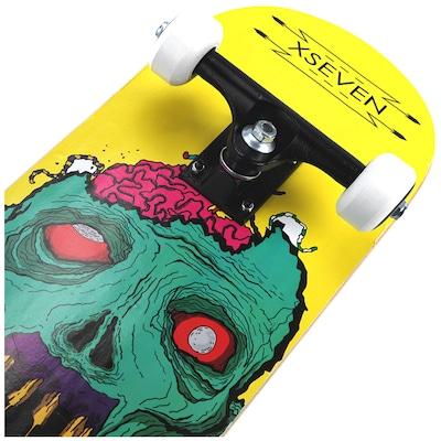 Skate X7 Street Zombie Head Nac