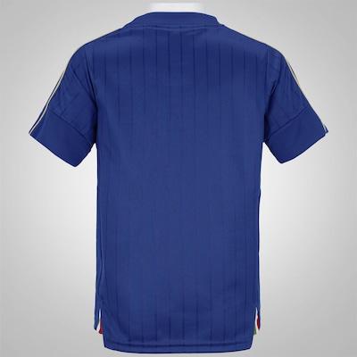 Camisa Itália I 2016 Puma - Infantil