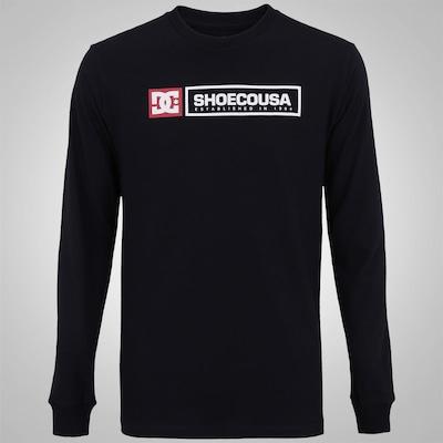Camiseta Manga Longa DC Shoes Basic Relic - Masculina