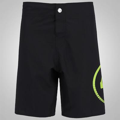 Bermuda Quiksilver Sideways Button - Masculina