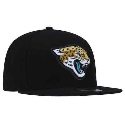Boné Aba Reta New Era 59FIFTY Jacksonville Jaguars NFL - Fechado - Adulto
