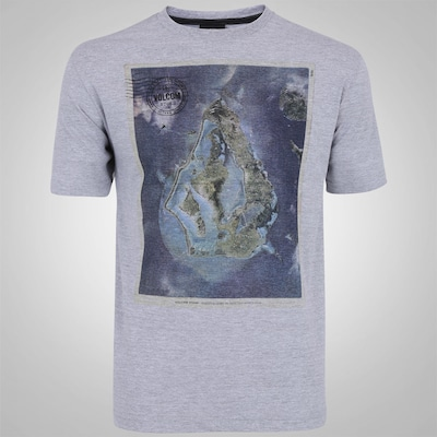 Camiseta Volcom Island Stone - Masculina