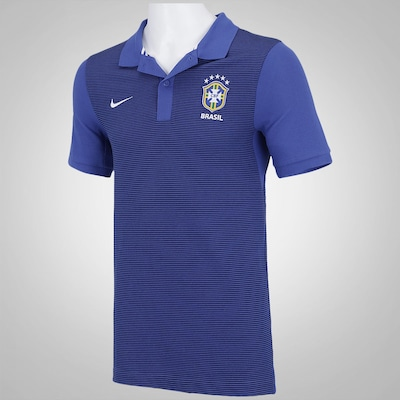 Camisa Polo do Brasil Nike CBF Authentic - Masculina