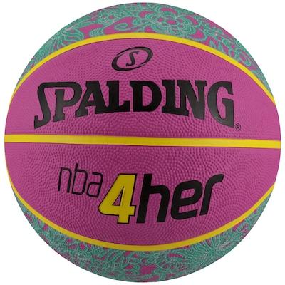 Bola de Basquete Spalding NBA 4Her Pink
