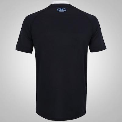 Camiseta Under Armour Tech Boxed Logo - Masculina